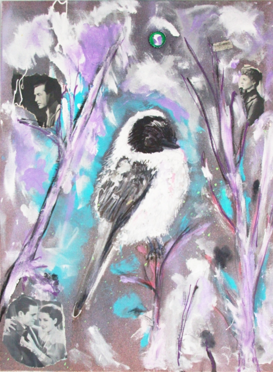 portrait of artist as bird